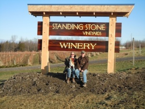 Tom and Marti Macinski   Photo Courtesy: Standing Stone Vineyards