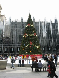 Ice Rink & Christmas Tree PPG Place