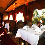Dining Car  Photo Courtesy : The Napa Valley Wine Train