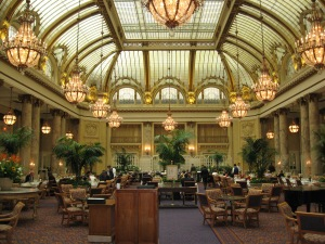 The Garden Court Restaurant, The Palace Hotel San Francisco, CA