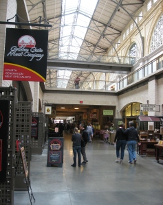 The Ferry Building Marketplace on the Embarcadero