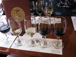 Wine Tasting on The Napa Valley Wine Train