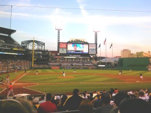 PNC Park on Pittsburgh's North Shore