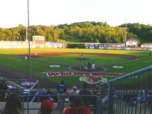 Wild Thing Baseball at Consol Field Washington Pa