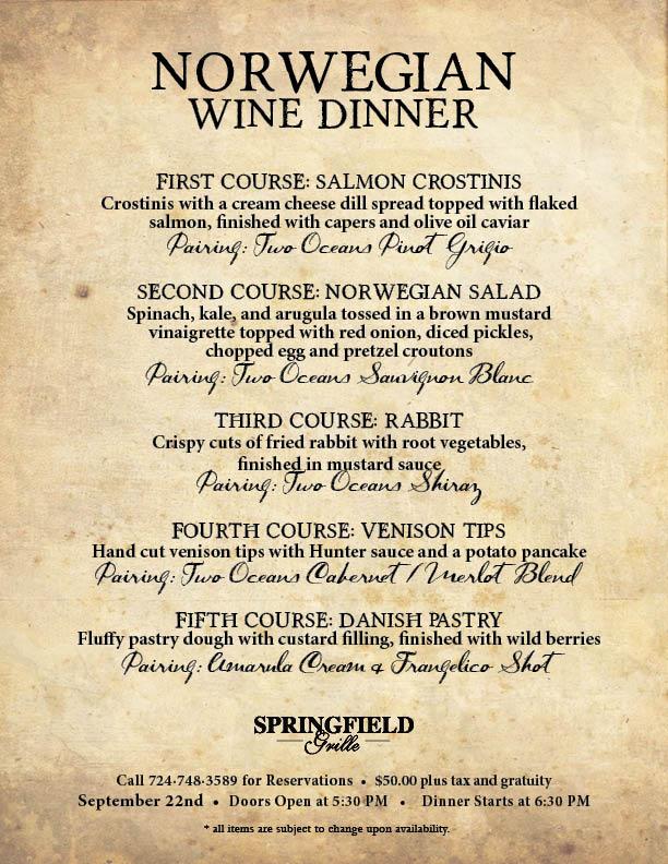 Springfield dinner