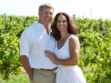 Chuck & Daneen Zaleski Owners Fero Vineyards & Winery