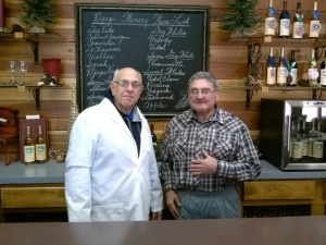 Winery Manager: Chuck Abvulovic (L) Owner&Winemaker: Rich Ripepi(R)