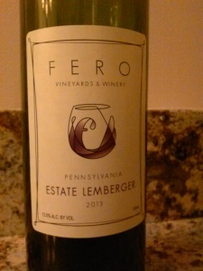 Fero Estate Lemberger 2013
